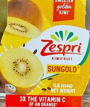 Zespri SunGold Golden Kiwis