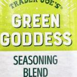 Trader Joe's Green Goddess Seasoning Blend