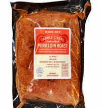 Trader Joe's Apple Cider Pork Loin Roast