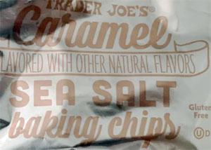 Trader Joe's Caramel Sea Salt Baking Chips