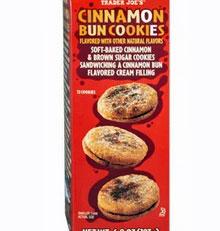 Trader Joe's Cinnamon Bun Cookies