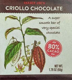 Trader Joe's Criollo Chocolate Reviews