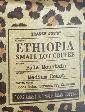 Trader Joe's Medium Roast Ethiopia Small Lot Coffee from Bale Mountain Reviews
