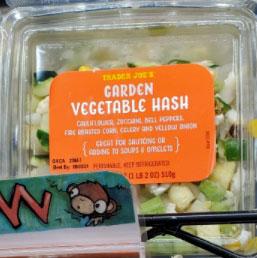 Trader Joe's Garden Vegetable Hash