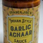 Trader Joe's Indian Style Garlic Achaar Sauce
