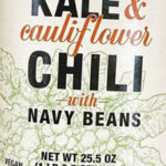Trader Joe's Kale & Cauliflower Chili with Navy Beans