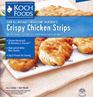 Koch Crispy Chicken Strips Reviews