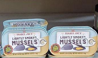 Trader Joe's Lightly Smoked Mussels