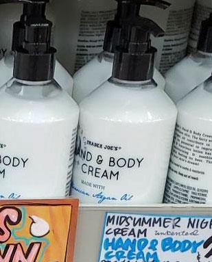 Trader Joe's Midsummer Night's Hand & Body Cream