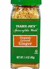 Trader Joe's Organic Ground Ginger Reviews
