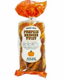 Trader Joe's Pumpkin Brioche Twist