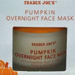 Trader Joe's Pumpkin Overnight Face Mask
