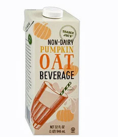 Non-Dairy Pumpkin Oat Milk