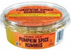 Trader Joe's Pumpkin Spice Hummus