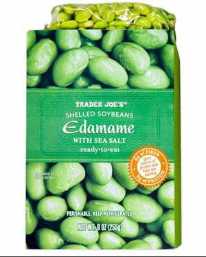 Trader Joe's Shelled Edamame with Sea Salt