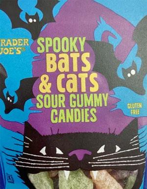 Trader Joe's Spooky Bats & Cats Sour Gummies