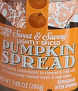Trader Joe's Pumpkin Spread