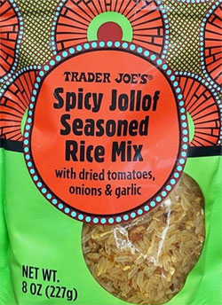 Trader Joe's Spicy Jollof Seasoned Rice Mix