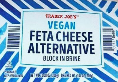 Trader Joe's Vegan Feta Cheese Alternative Reviews